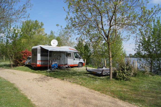 Our 6th Campsite : Kawan Village L'Isle Verte  France - Loire Valley - Montsoreau  This site was on the banks of the Loire. A wonderful area, close to the city of Samur.