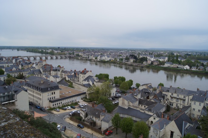 Saumur from the Château