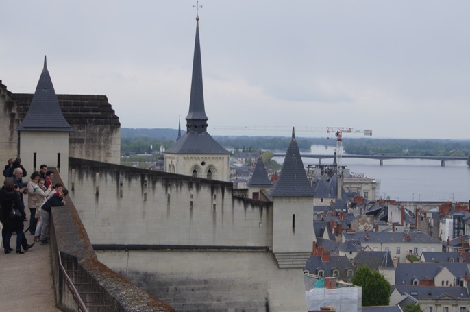 Another view of Saumur