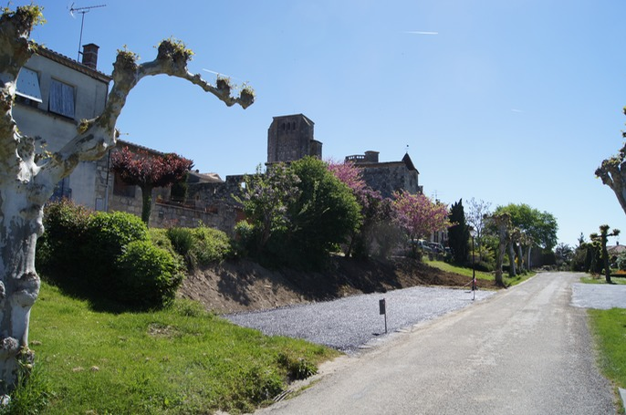 La Romieu; another view