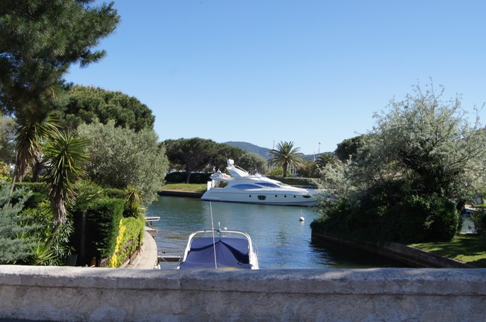 The residents in Port Grimaud each have a berth