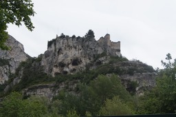 Ancient Castle at Fontaine-de-Vaucluse