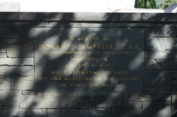 Donald Campbell's Memorial at Coniston Water
