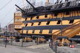 HMS Victory at Portsmouth Historic Dockyard 2