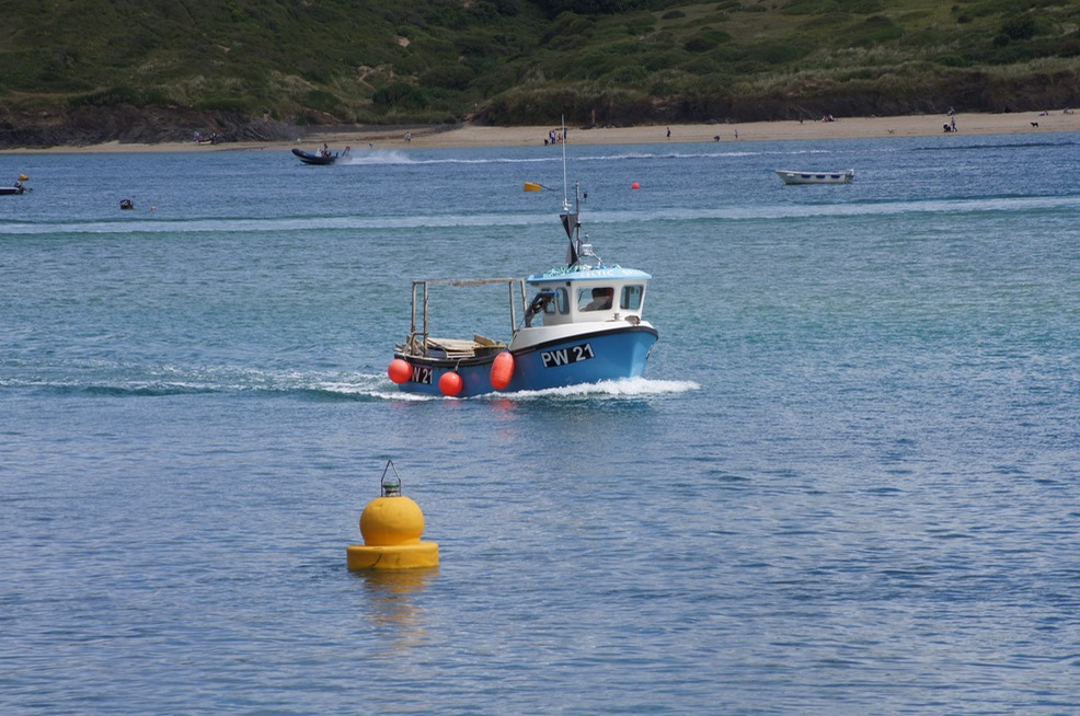 Bringing in the Catch to Padstow