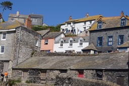 Port Isaac - all uphill or down!