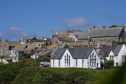 The School in the Doc Martin Series; a Restaurant in real life Port Isaac