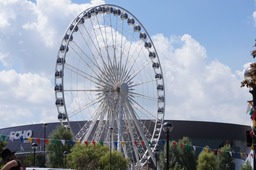 Not the London Eye, it's Liverpool's Wheel