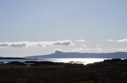 From Arisaig looking at Eigg