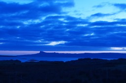 The Sky at Night over Eigg