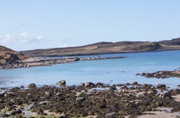 View from Port a Bhaígh Campsite, Altandhu