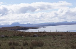 View from Achiltbuie Stores
